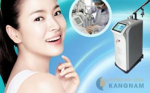 Laser C02 Fractional – Công nghệ trị mụn thịt vượt trội 2014