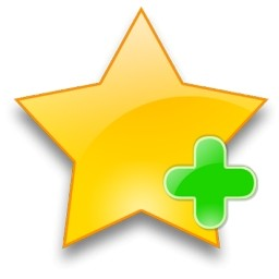 yellow-star-with-green-add-sign-27112