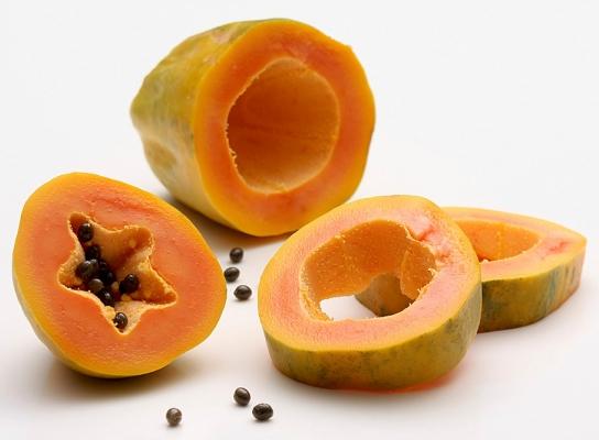 trị mụn thịt bằng trái cây 1
