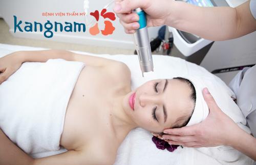 điều trị mụn thit tại BVTM Kangnam