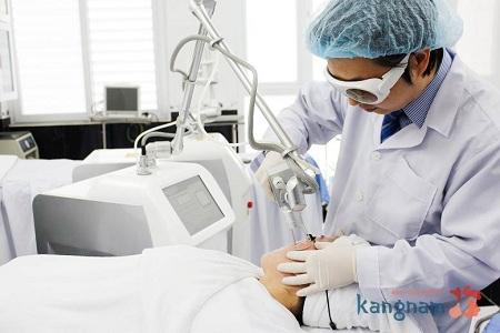 Cách chữa mụn thịt ở cổ hiệu quả là áp dụng công nghệ Laser Co2 Fractional