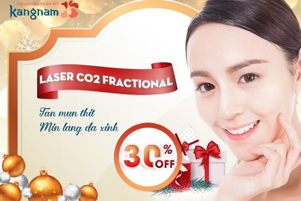 [HOT] OFF 30% – LASER CO2 FRACTIONAL – TAN MỤN THỊT – MỊN LÁNG DA XINH