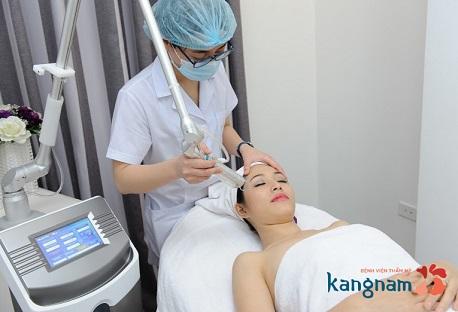 điều trị mụn thịt tại kangnam